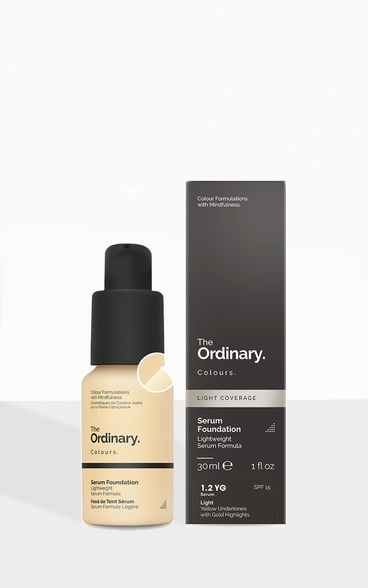 The Ordinary Serum Foundation 1.2 YG SPF 1