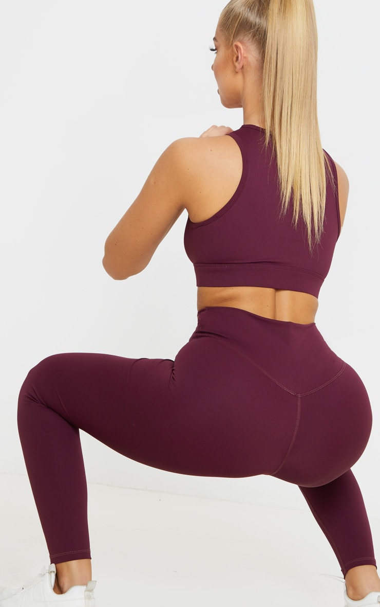 Berry Sculpt Luxe High Waist Gym Legging 5