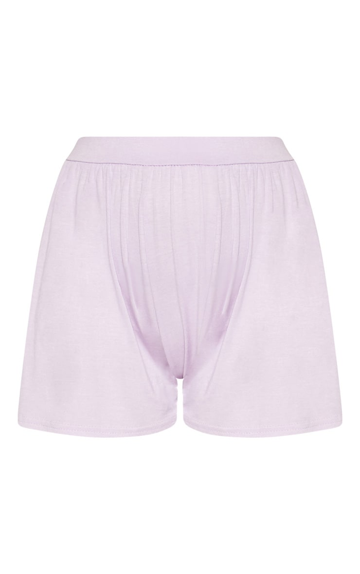 Lilac Jersey Floaty Short 3