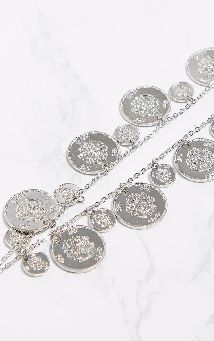 Silver Coin Head Piece 3