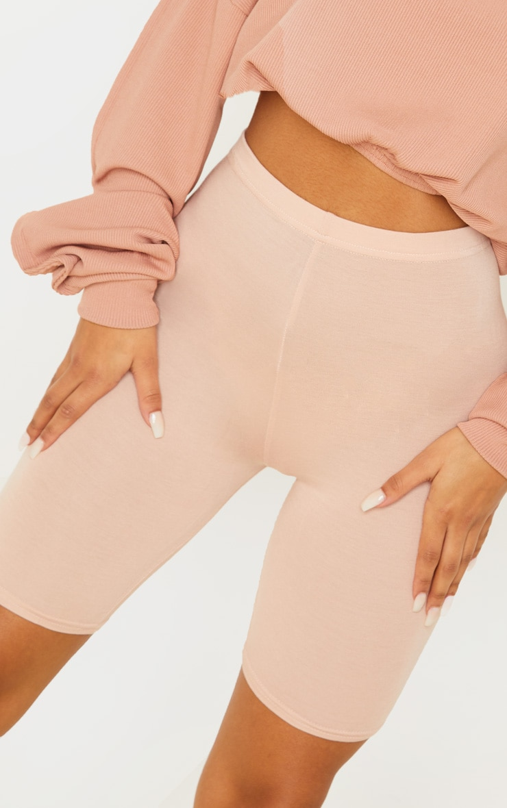 Basic Nude Cycle Shorts 6