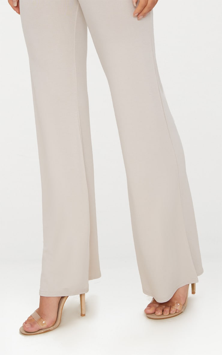 Stone Basic Jersey Wide Leg Pants 5