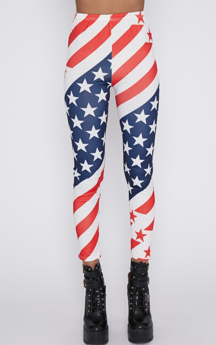 Morgana American Flag Legging  6