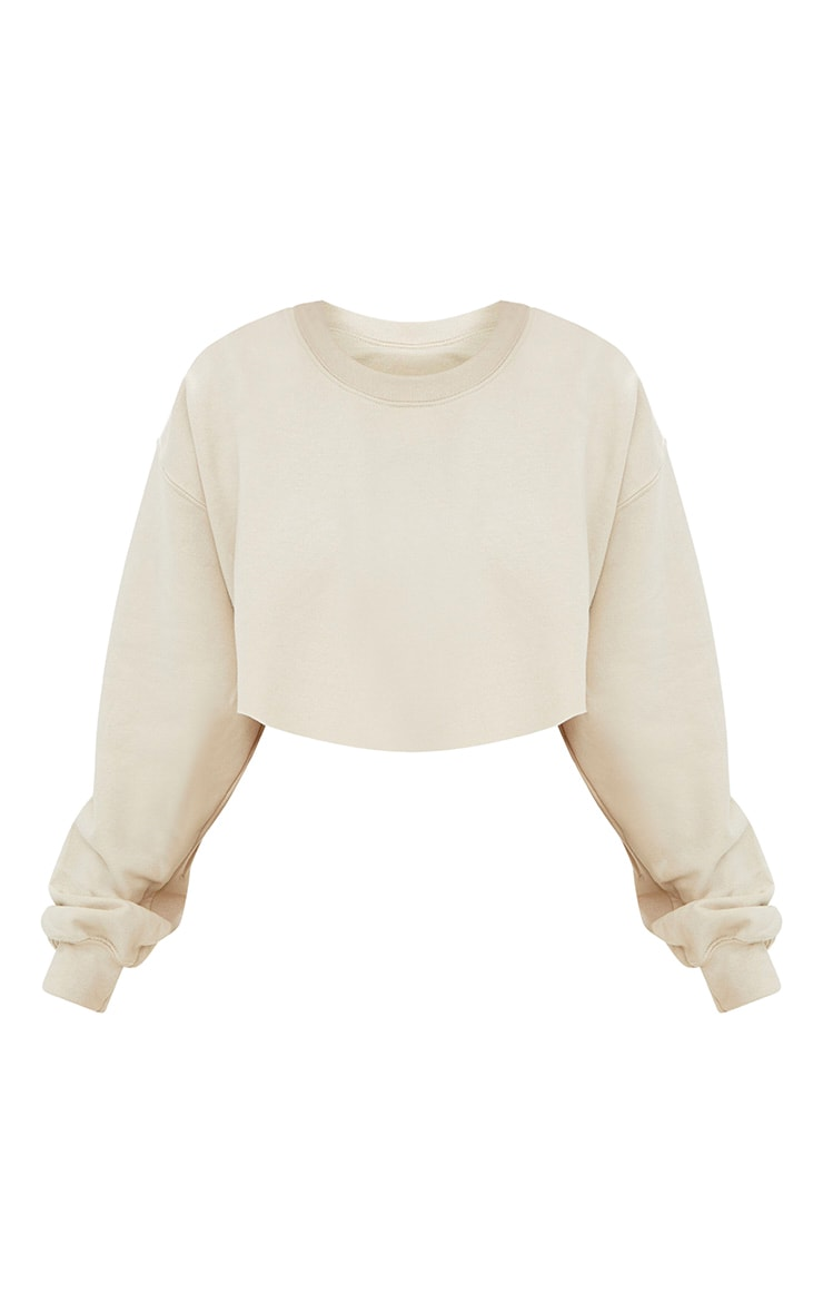 Sand Ultimate Cropped Sweater 2