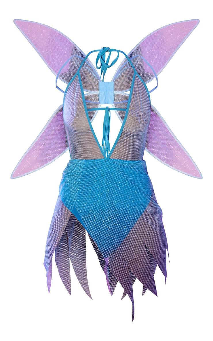 Blue Pixie Fancy Dress Costume 5