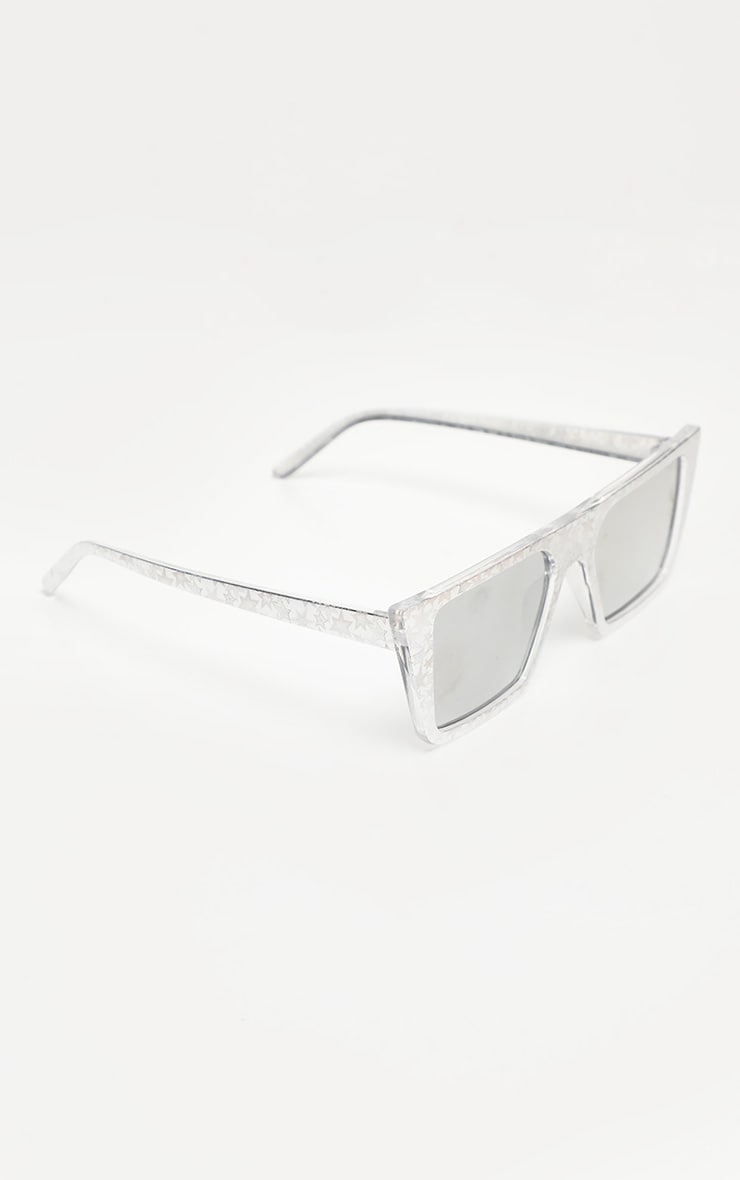 Multi Star Frame Square Sunglasses 2