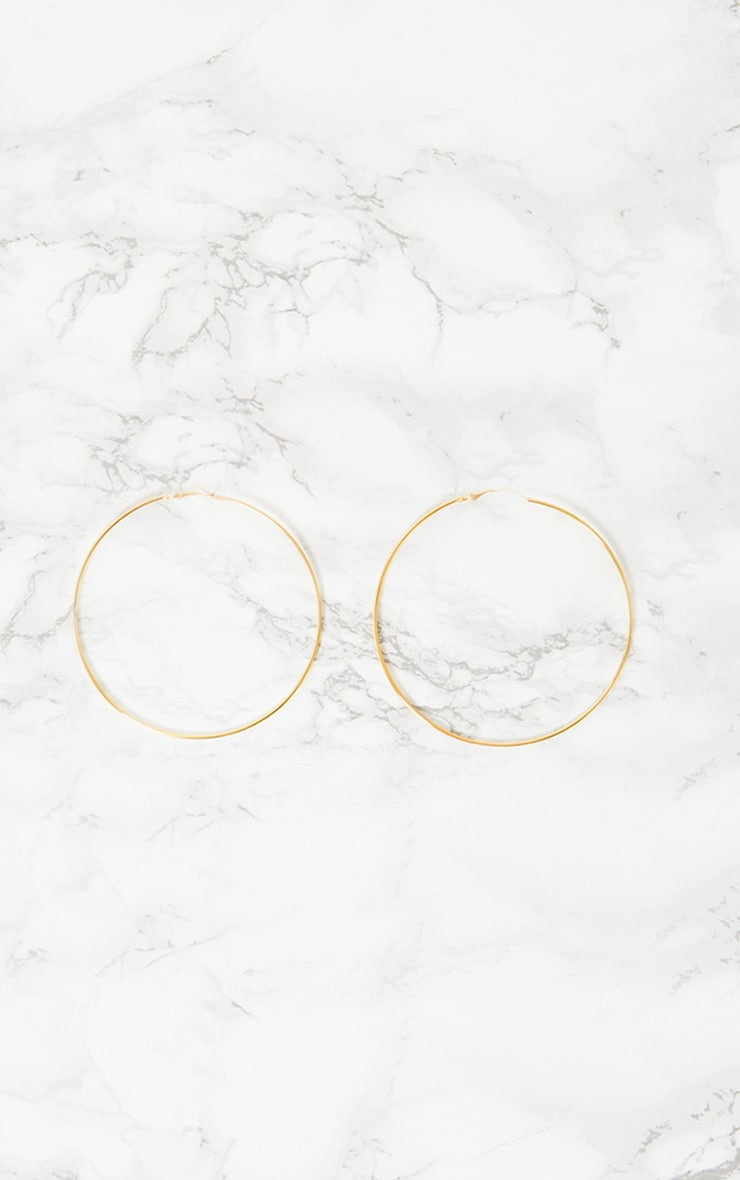 Gold Hoop Earrings 3