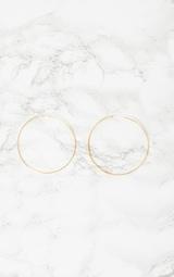 Gold Hoop Earrings 3