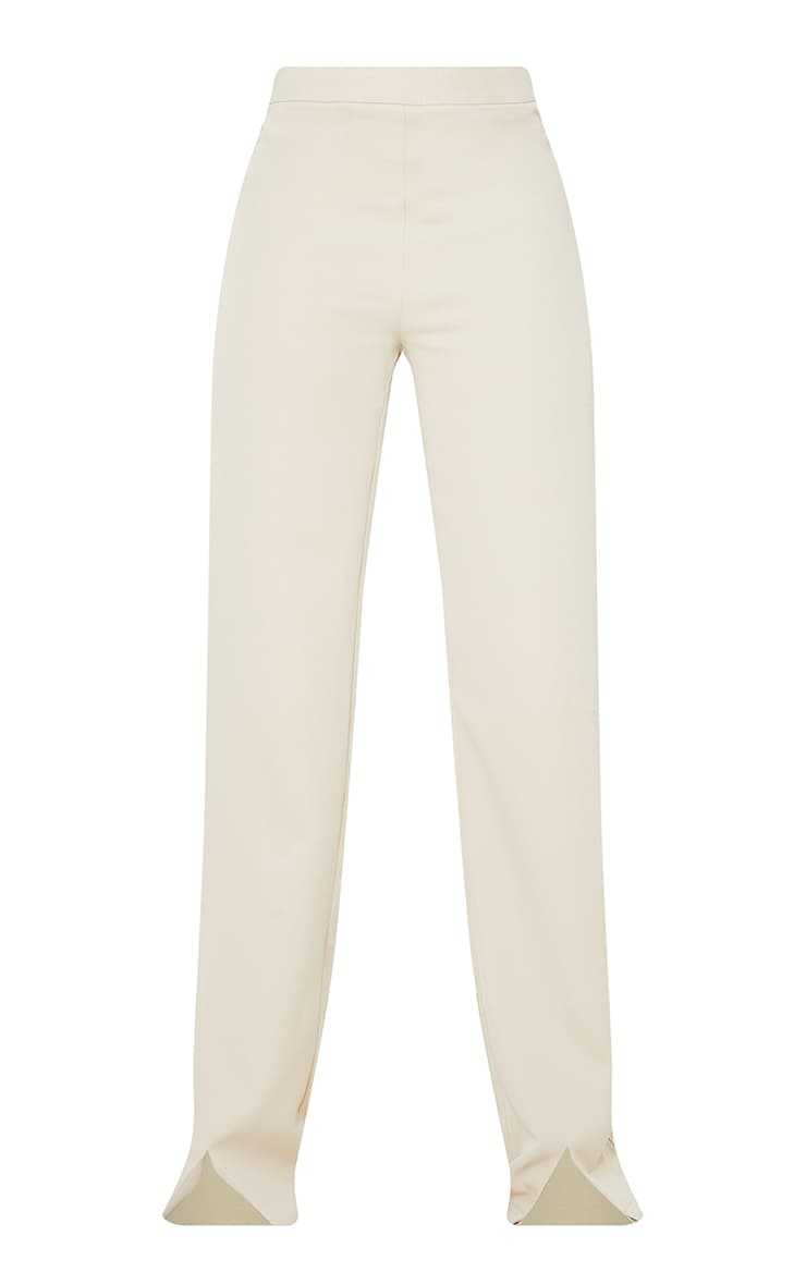 Tall Stone High Waisted Woven Trousers 5