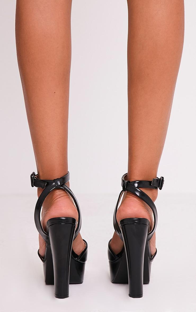 Dianne Black Platform Heels 4