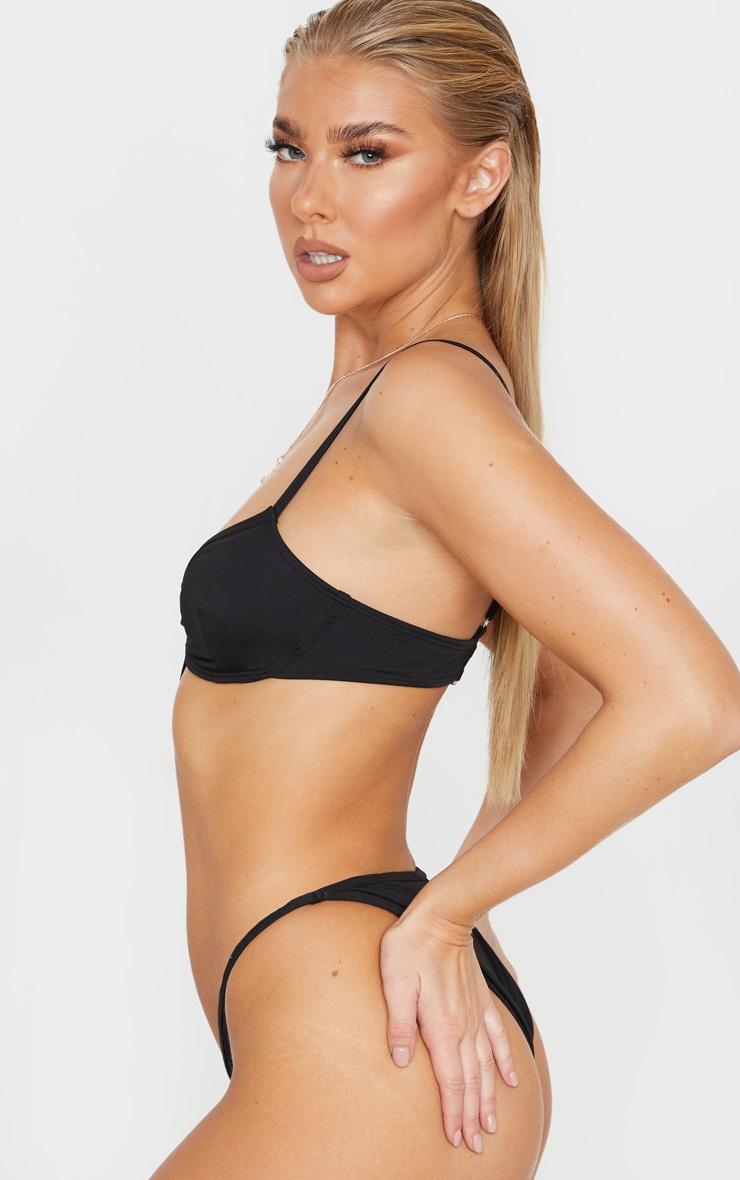 Black Mini Bikini Bottoms 2