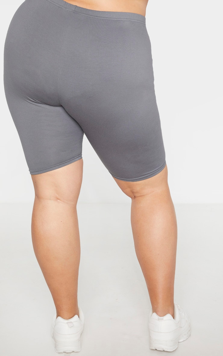 Plus Charcoal Basic Bike Short 4