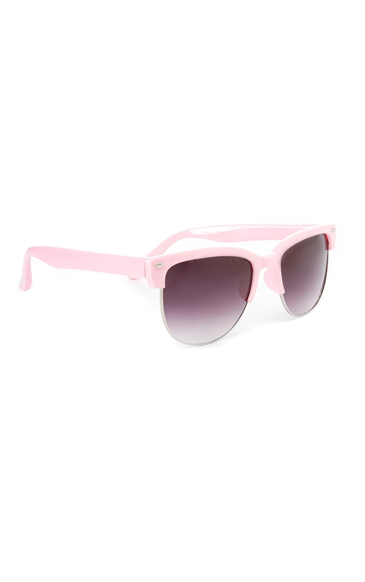 Tally Pink Clubmaster Sunglasses  2