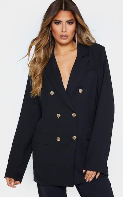 Tall Black Tailored Blazer