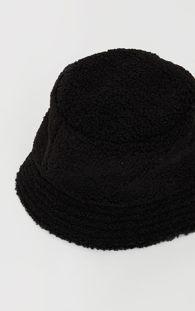 Black Borg Bucket Hat 2