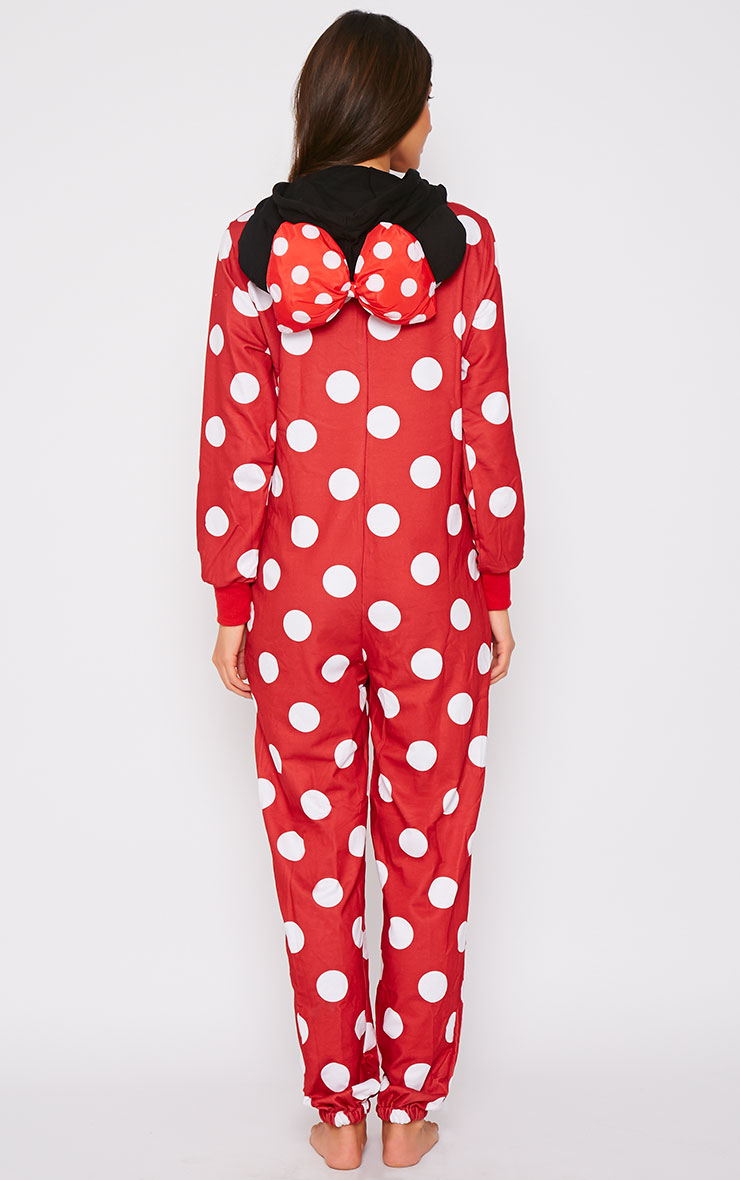 Minnie Bow Snuggle Onesie 2