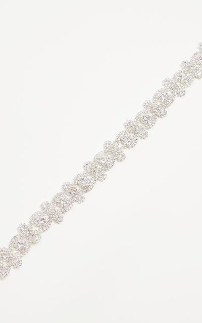Jena Silver Diamante Choker