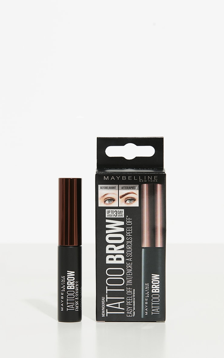 Maybelline Tattoo Brow Longlasting Gel Tint Dark Brown 3