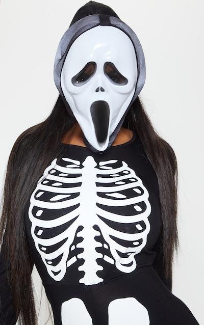 Black Horror Film Mask