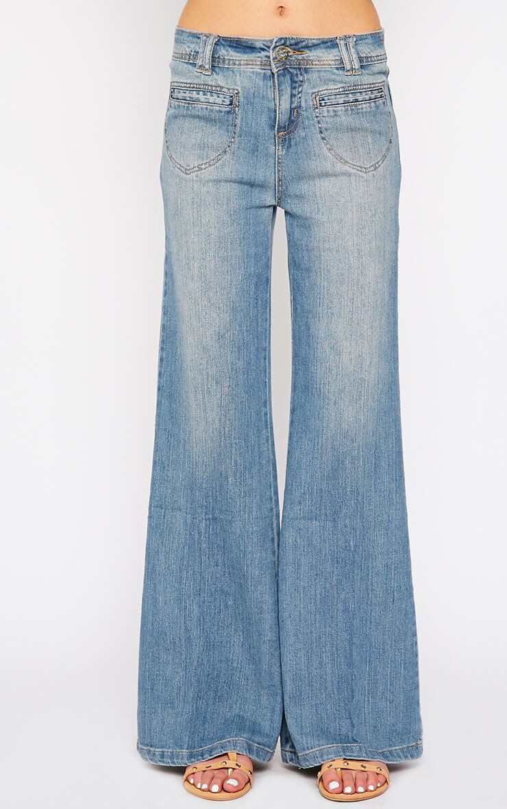 Tierna Blue Flared Jean 2
