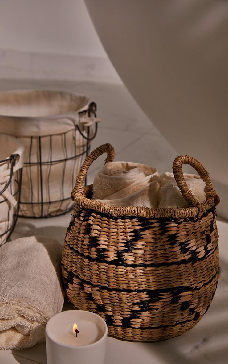 Seagrass Zig Zag Basket 2