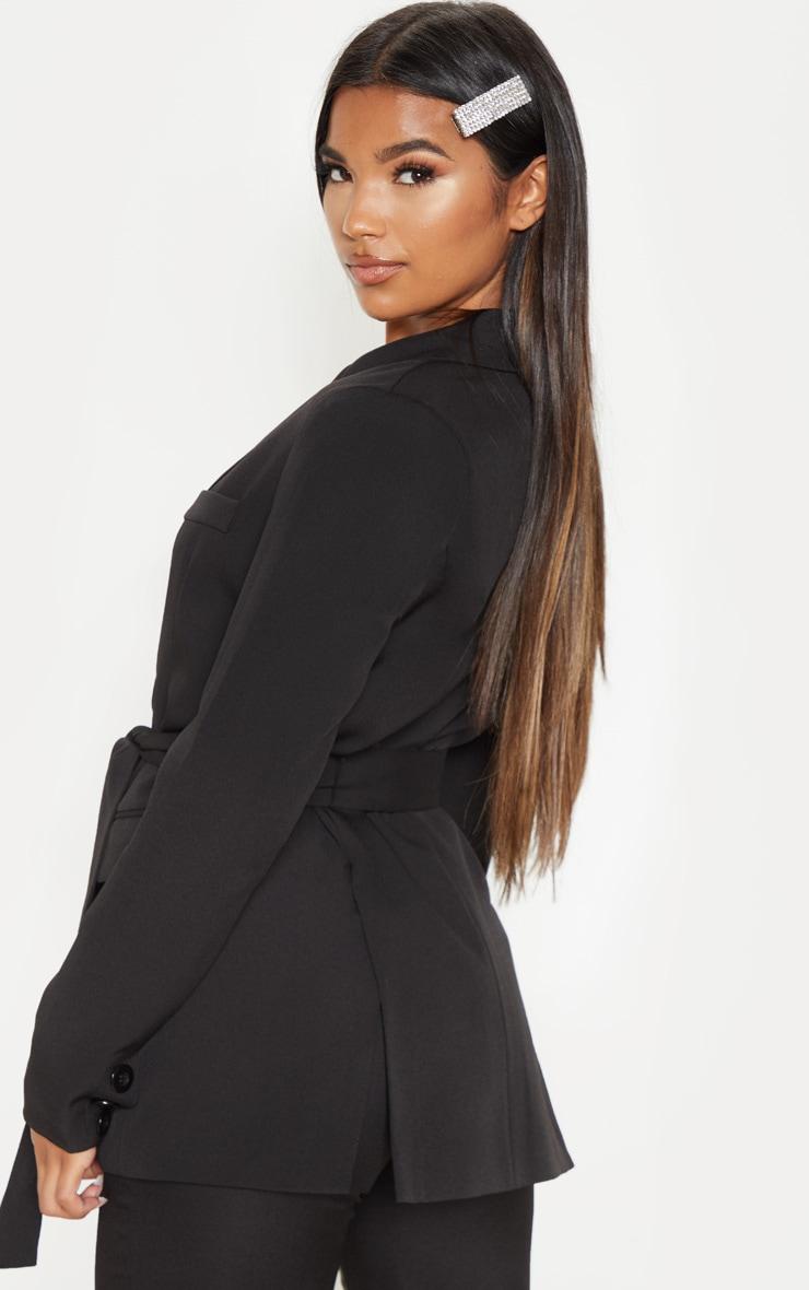 Rebecca Black Belted Blazer 2