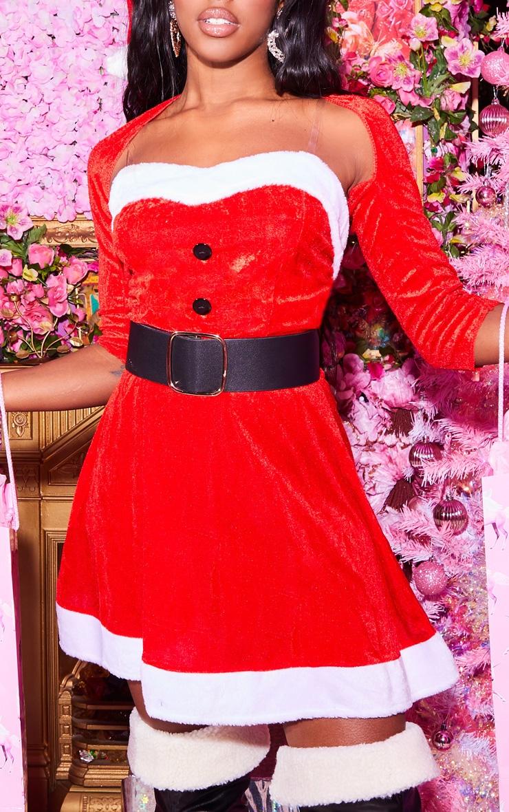 Red Sexy Premium Mrs Santa 5