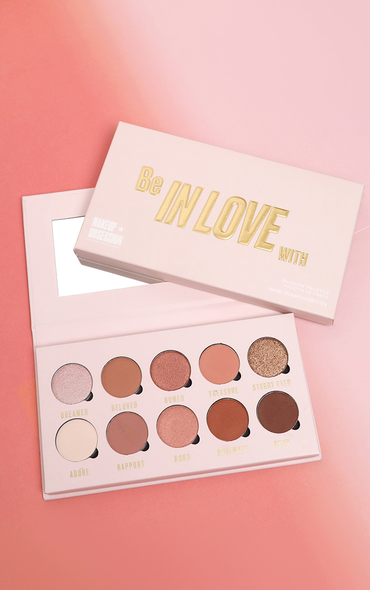 Makeup Obsession Be In Love With Eyeshadow Palette 1