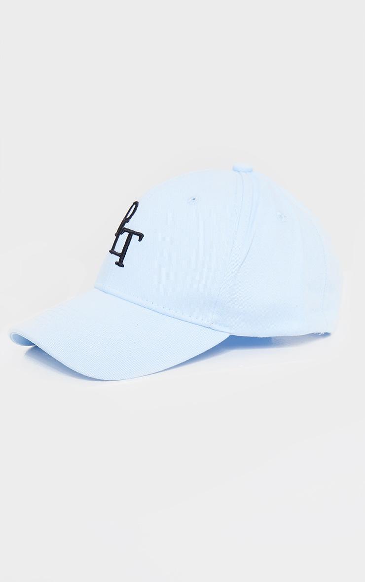PRETTYLITTLETHING Baby Blue Baseball Cap 3