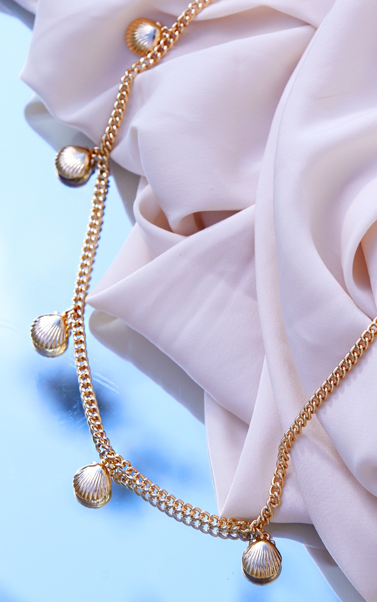 Gold Dainty Assorted Shell Necklace 3