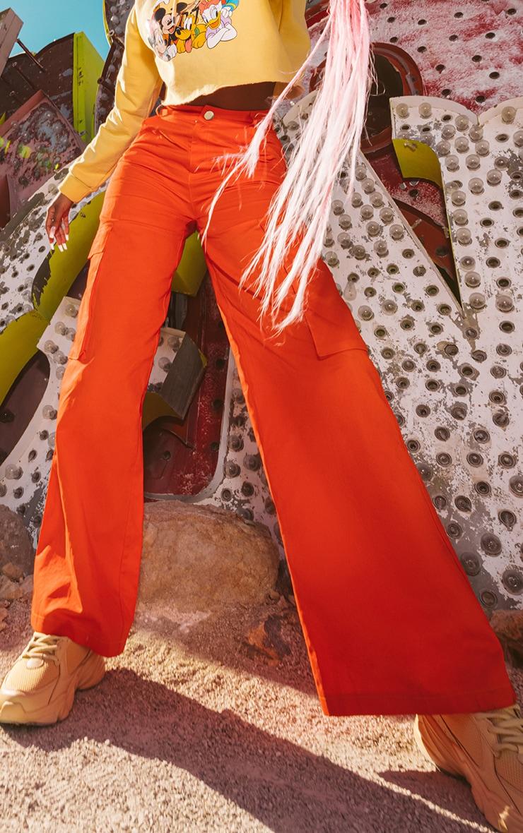 Orange Disney Cargo Pants 2