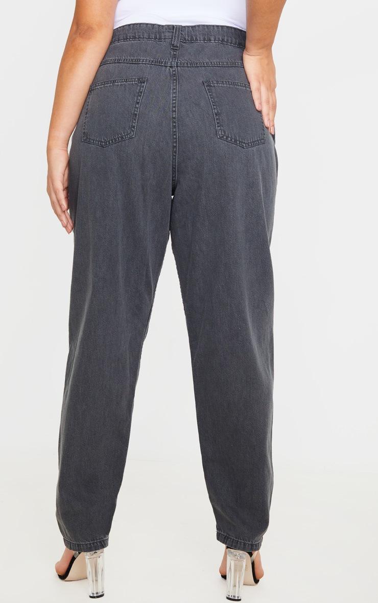 Plus Charcoal Straight Leg Jean 4