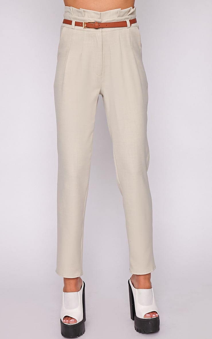 Dolly Beige Tailored Trouser  2