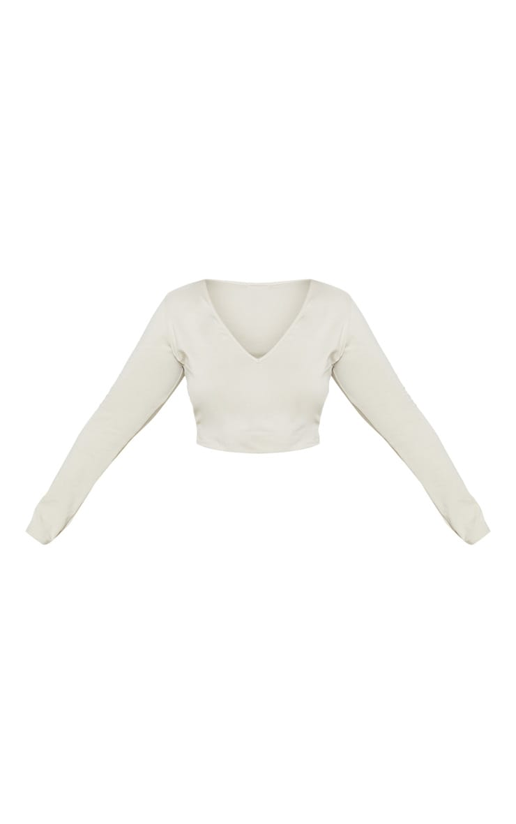 Plus Stone Basic Longline Long Sleeve Top 3