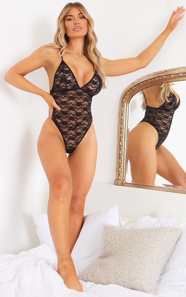 Black Basic Lace Body 3