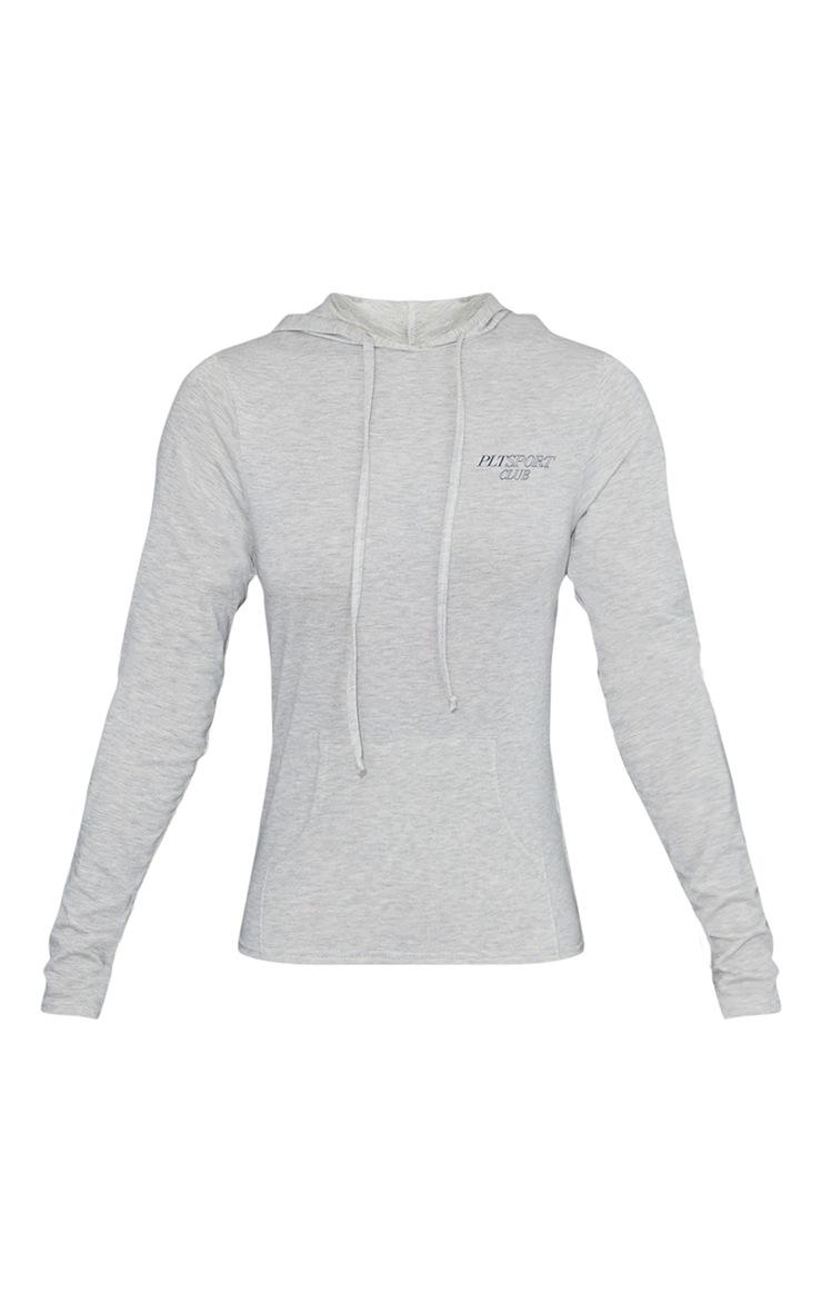 Grey Soft Yoga Hoody 5