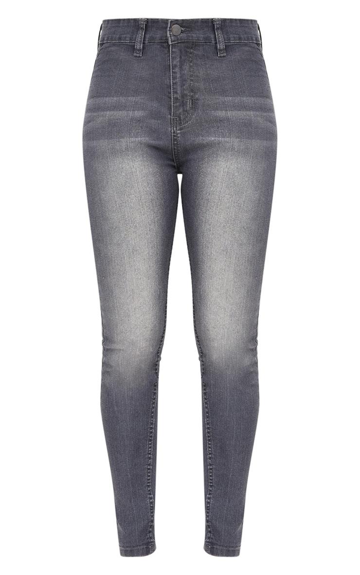Grey Disco Skinny Jean  3