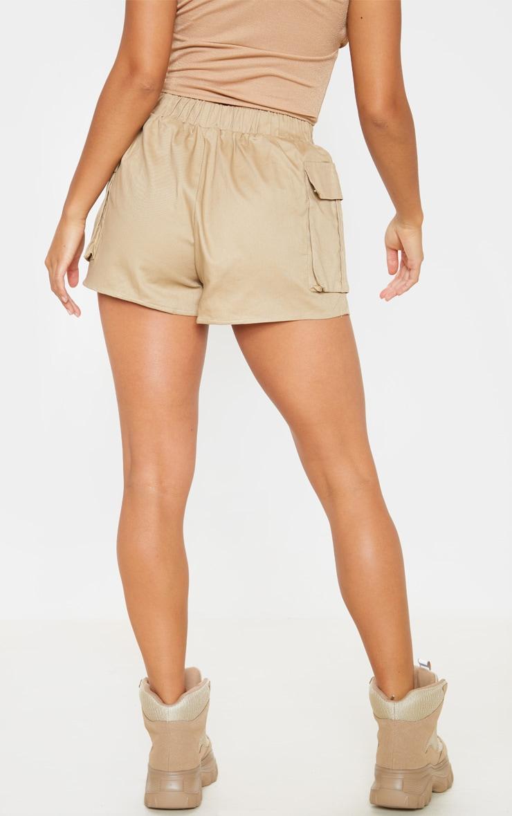 Petite Stone Cargo Pocket Shorts 3