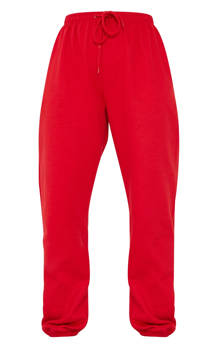 Red Chicago Casual Joggers 5