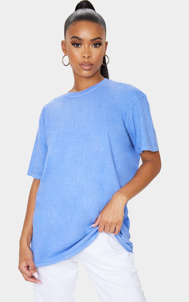 Blue Washed T Shirt 1