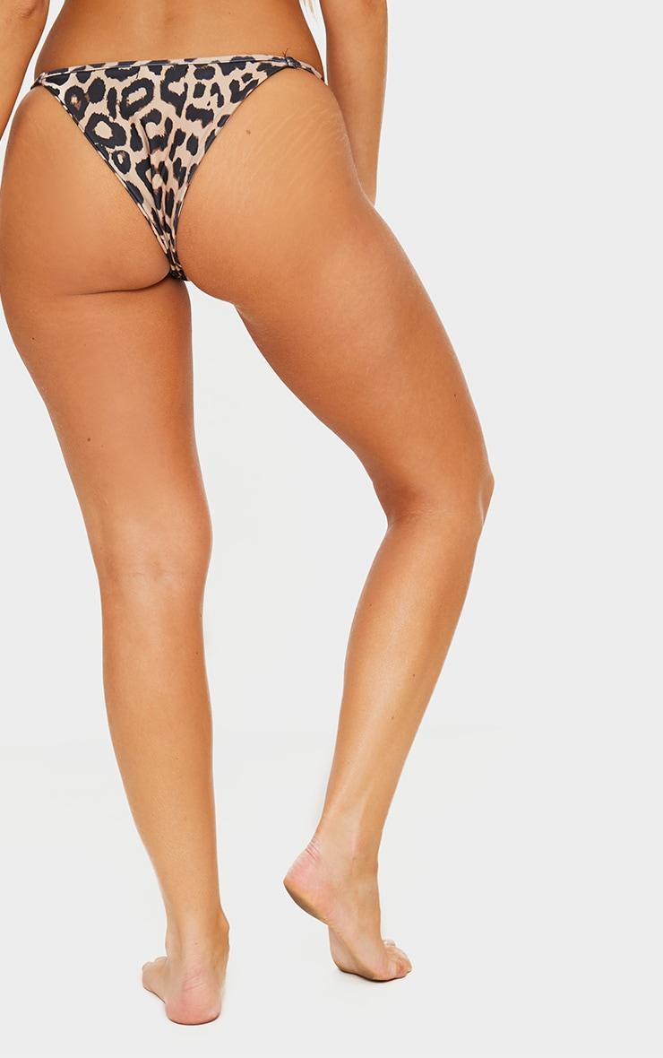 Bas de bikini tout petit imprimé léopard 4