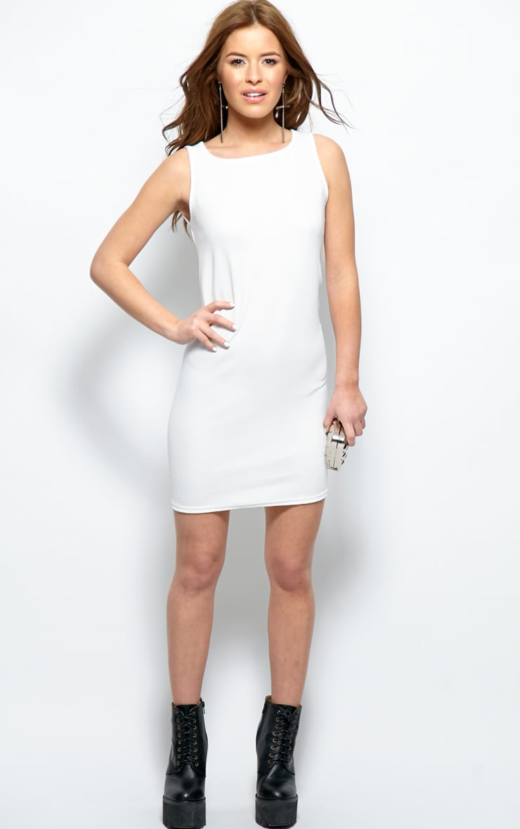 Ashton White Premium Shift Dress 3