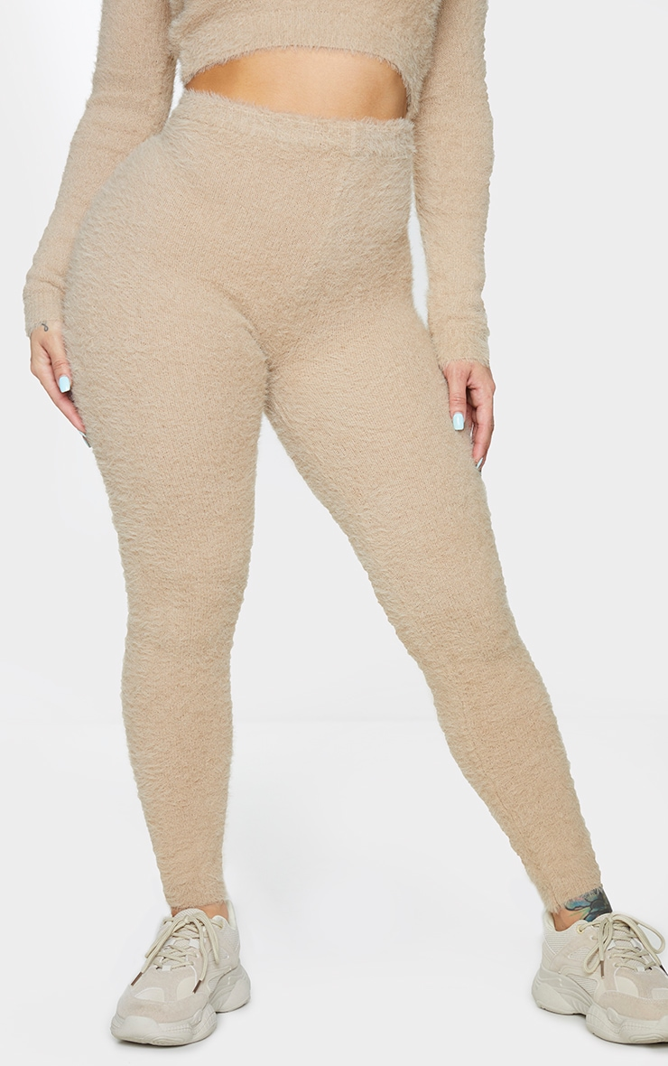Shape Stone Fluffy Knit Leggings 2