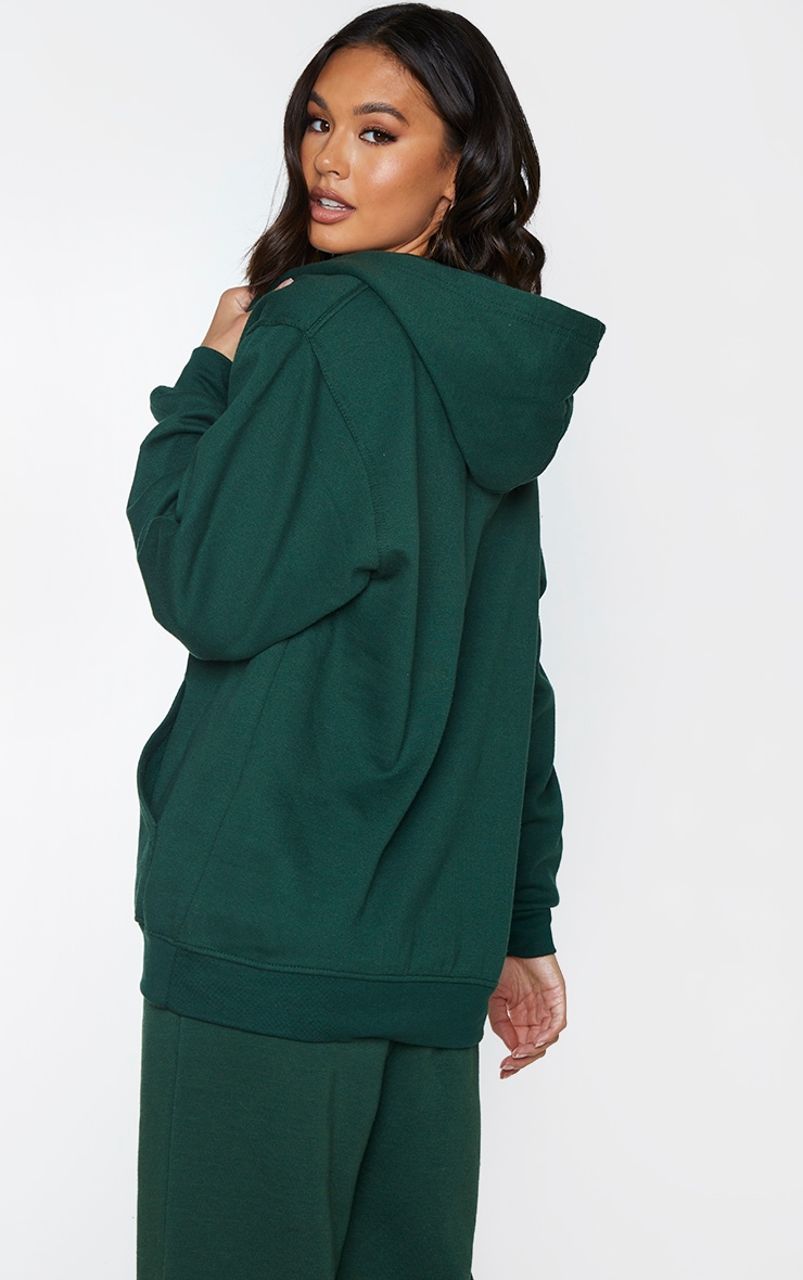 Forest Green Ultimate Oversized Hoodie 2