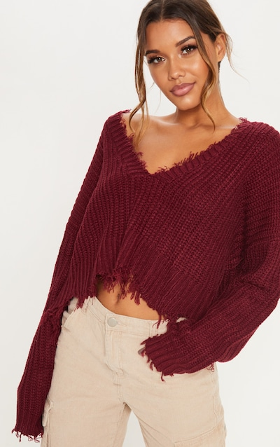 7203ee2556 Knit Sweaters | Women's Chunky & Fuzzy Sweater | PrettyLittleThing USA