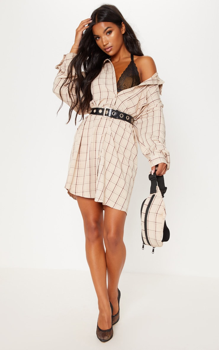 shirt dress with holes