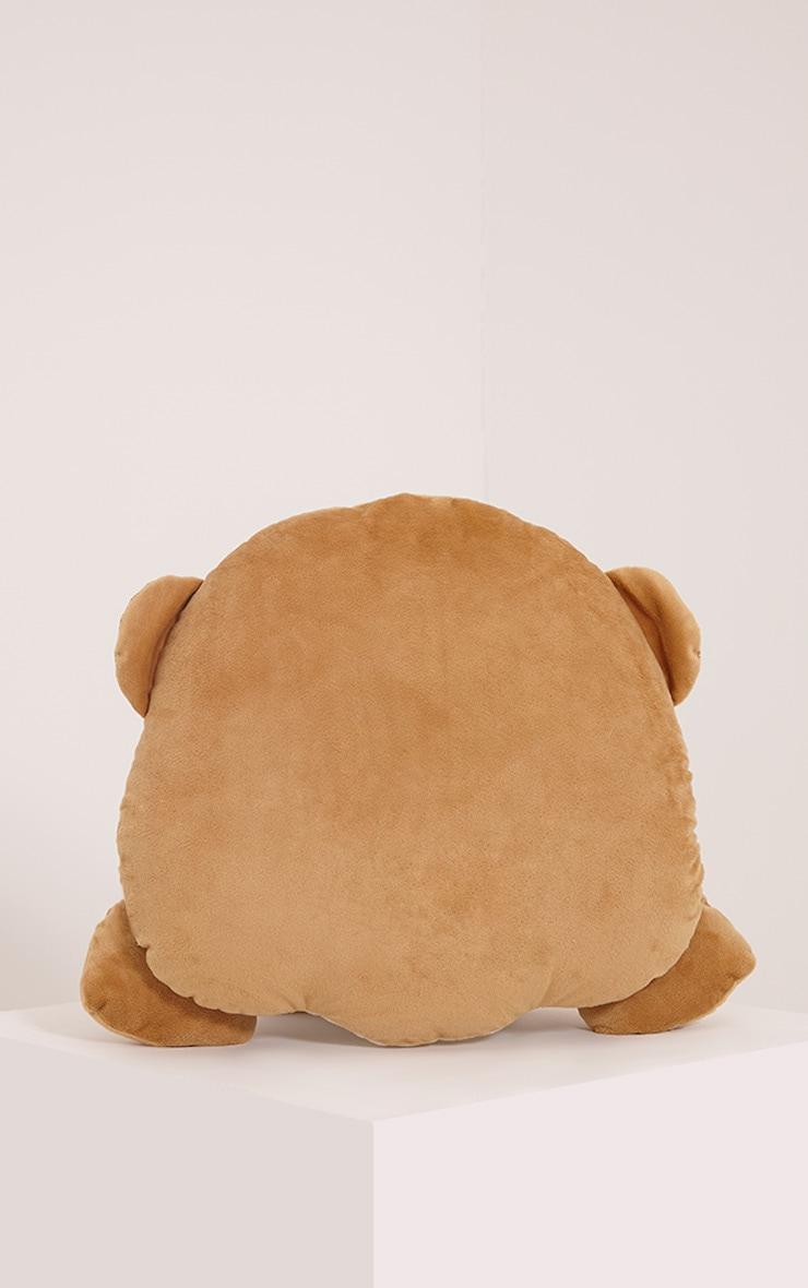 See No Evil Emoji Monkey Cushion 2