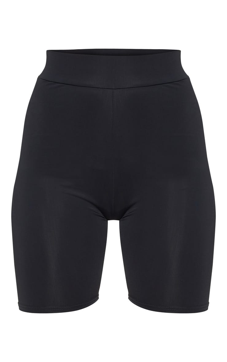 Black Basic Gym Cycle Short 3