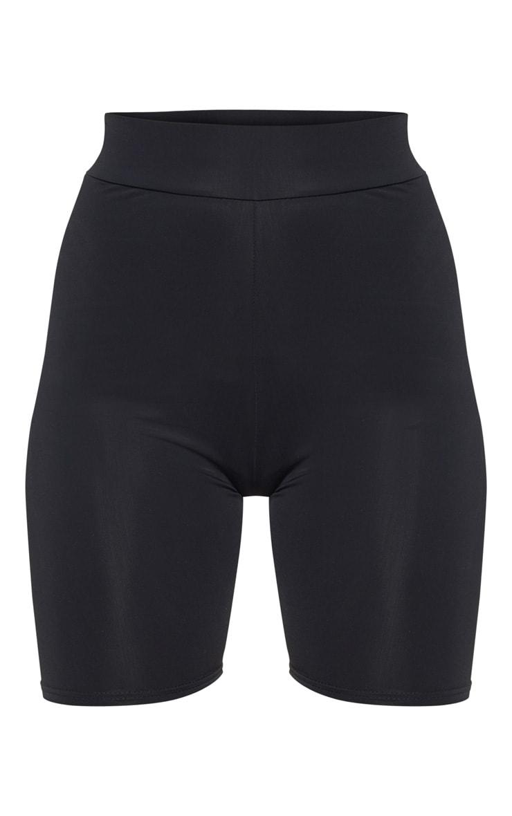Black Basic Gym Bike Short 3