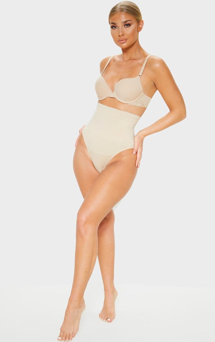 Nude Seamless High Waist Control Shapewear Brief 4